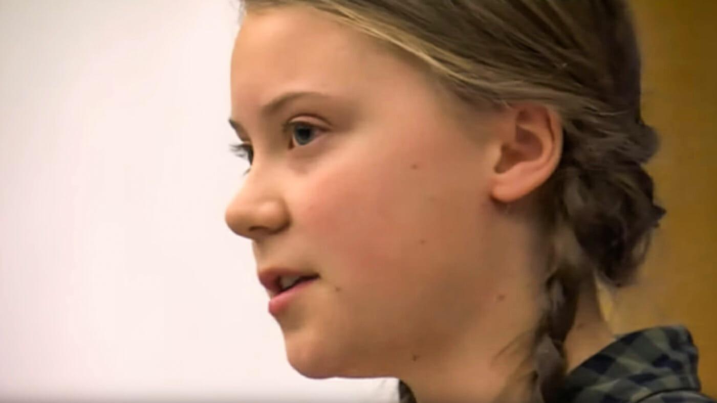 "Listen to Greta Thunberg's ""I Have A Dream"" speech"